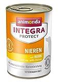 Animonda Integra Protect Nieren mit Huhn | Diät Hundefutter | Nassfutter bei chronischer Niereninsuffizienz (6 x 400 g)